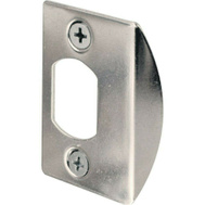 Prime Line E2234 Standard Latch Strike For Residential Doorways 2-1/4 Inch By 1-3/4 Inch Chrome