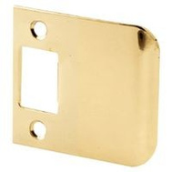 Prime Line E2347 Strike Plate Extended Lip 2-1/2 Inch Brass Plated