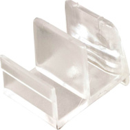 Prime Line M6111 193074 Shower Door Bottom Guide Clear Acrylic