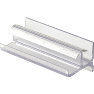 Prime Line M6144 193086 Shower Door Bottom Guide Clear