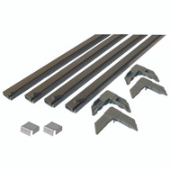 Prime Line PL7807 Make To Fit Screen Frame Kit Bronze Finish