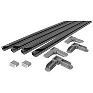 Prime Line PL7857 Make To Fit Frame Kit Aluminum 4 Foot Pcs Gray