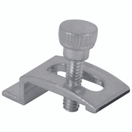 Prime Line PL7939 181041 Make To Fit Screen And Storm Door Panel Clip 1/4 Inch Depth Mill Finish