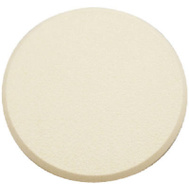 Prime Line U9186 SCU9186 Wall Guard Self Adhesive 3-1/4 Inch Round Ivory Paintable Plastic