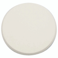 Prime Line U9270 SCU9243 Wall Guard Self Adhesive 3-1/4 Inch Round White Paintable Plastic