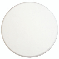 Prime Line U9271 SCU9244 Wall Guard Self Adhesive 5 Inch Round White Paintable Plastic