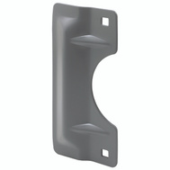 Prime Line U9500 Latch Guard For Outswinging Doors 7 Inch Gray