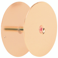 Prime Line U9516 Hole Cover 2-5/8 Inch Brass Plated