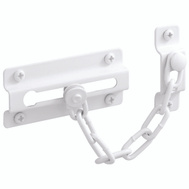 Prime Line U9852 Chain Door Guard White