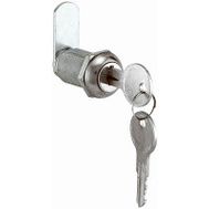 Prime Line U9945 22409 Stainless Steel Face Drawer And Cabinet Lock 1-1/8 Inch