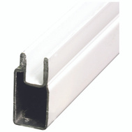 Prime Line PL14157 Back Room Aluminum Window Frame 3/8 By 94 Inch White Finish