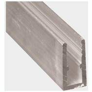 Prime Line PL14164 Back Room Aluminum Window Frame 5/16 By 94 Inch Mill Finish
