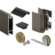 Prime Line PL14371 Bronze Sliding Door Screen Frame Kit 37 By 81 Inch Maximum