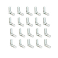 Prime Line PL15758 Corner Screen White 3/4 By 7/16 Inch 20 Pack