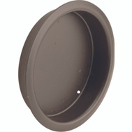 Prime Line N7208 Recessed Round Cup Pulls 2 Inch Bronze Finish 2 Pack