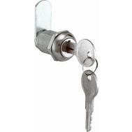 Prime Line CCEP9943KA Stainless Steel Drawer Lock 7/8 Inch