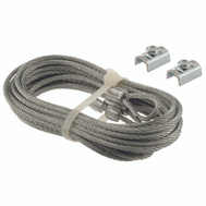 Prime Line GD52102 711 Garage Door Safety Cable Set 1/8 Inch Diameter By 102 Inch Length