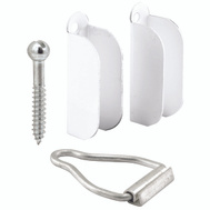 Prime Line PL8103 White Window Screen Hanger And Latch