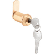 Prime Line CCEP9953KA Drawer And Cabinet Door Lock 1-3/8 Inch Stamped Aluminum