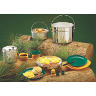 Texsport 13160 Cookware Camp 4Persn Alum 15Pc