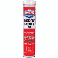Lucas Oil Products 10005-60 Grease Lithium Red/Tacky 14 Ounce