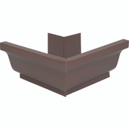 Amerimax 2520219 Aluminum Outside Mitre 5 Inch Brown