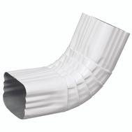 Amerimax 27064 White Aluminum Gutter Elbows 2 By 3 Inch