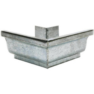 Amerimax 29002 5 Inch Mill Finish Galvanized Outsidemitre