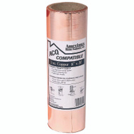 Amerimax 850678 Copper Wood Frame Termite Shield Flashing 8 Inch By 20 Foot