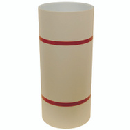 Amerimax 69124027 24 Inch By 50 Foot Ivory And White Aluminum Trim Coil