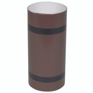 Amerimax 69410 10 Inch By 10 Foot White / Brown Aluminum Trim Coil