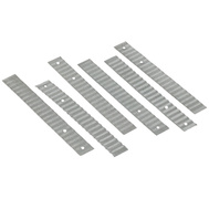 Amerimax 85131 Galvanized Wall Ties 7/8 By 7 Inch 28 Gauge