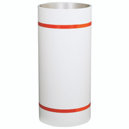 Amerimax 6912457 / 06812 Aluminum With PVC Coating Trim Coil 0.021 By 24 Inch By 50 Foot White On White