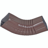 Amerimax 2526519 Elbow B Side Alum 2X3in Brown