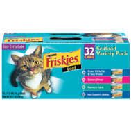 Friskies 45435 Friskies 32 Count Seafood Pack