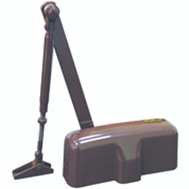 ProSource C102-H0-BR Residential Door Closer Brown Size 2