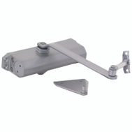 ProSource C501-AB-SA-AS Commercial 240 Pound Maximum Door Closer Silver Cast Aluminum