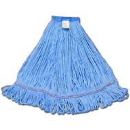 Abco 01311 Blue Large Looped End Wet Mop Head