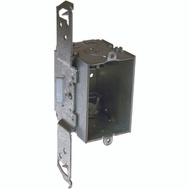 Hubbell 8524 Raco Gangable Switch Box 1 Gang 2-1/2 Inch Deep With TS Bracket
