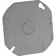 Raco 724 4 Inch Octagon Blank Cover With 1/2 Ko