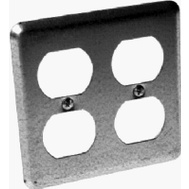 Raco 873 4 Double Duplex Receptacle Wallplate Cover