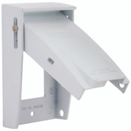 Hubbell Electrical 5028-6 Bell Cover 1 Gang Gfi White
