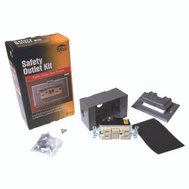 Raco 5874-5S 15A GRY GFCI Outlet Kit