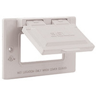 Hubbell Electrical 5101-6 Bell 1 Gang Gfi Outlet Cover White