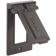 Hubbell Electrical 5103-2 Bell Gfi Vertical Mount Cover Bronze