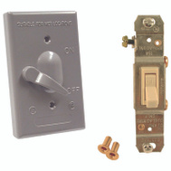Hubbell 5121-5 Bell 1 Gang Vertical Switch Cover