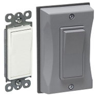 Hubbell 5122-0 Cover & Switch Wallplate Deco