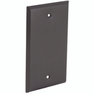 Hubbell Electrical 5173-2 Bell 1 Gang Water Proof Bronze Blank Cover