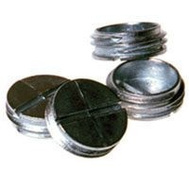 Hubbell 5269-0 Bell 1/2 Inch Gray Closure Plugs