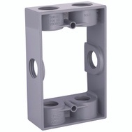 Hubbell 5400-5 Bell 1 Gang Extension Box/Adapter Gray